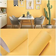 Wallpaper Pure Color Wallpaper, Clear Texture, PVC Waterproof Self-adhesive Wallpaper, Used for Living Room/Bedroom/TV Bac...