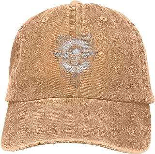 Avenged Sevenfold Sports Denim Cap Adjustable Snapback Casquettes Unisex Plain Baseball Cowboy Hat Black