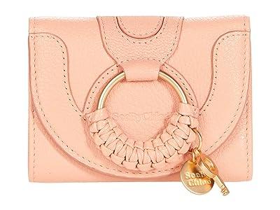 See by Chloe Hana Mini Wallet Leather (Fallow Pink) Handbags