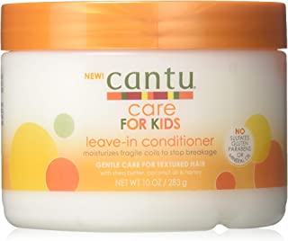 Cantu Care For Kids Leave-In Conditioner 10oz Jar (2 Pack)