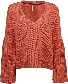 Free People Womens Damsel Knit Sweater