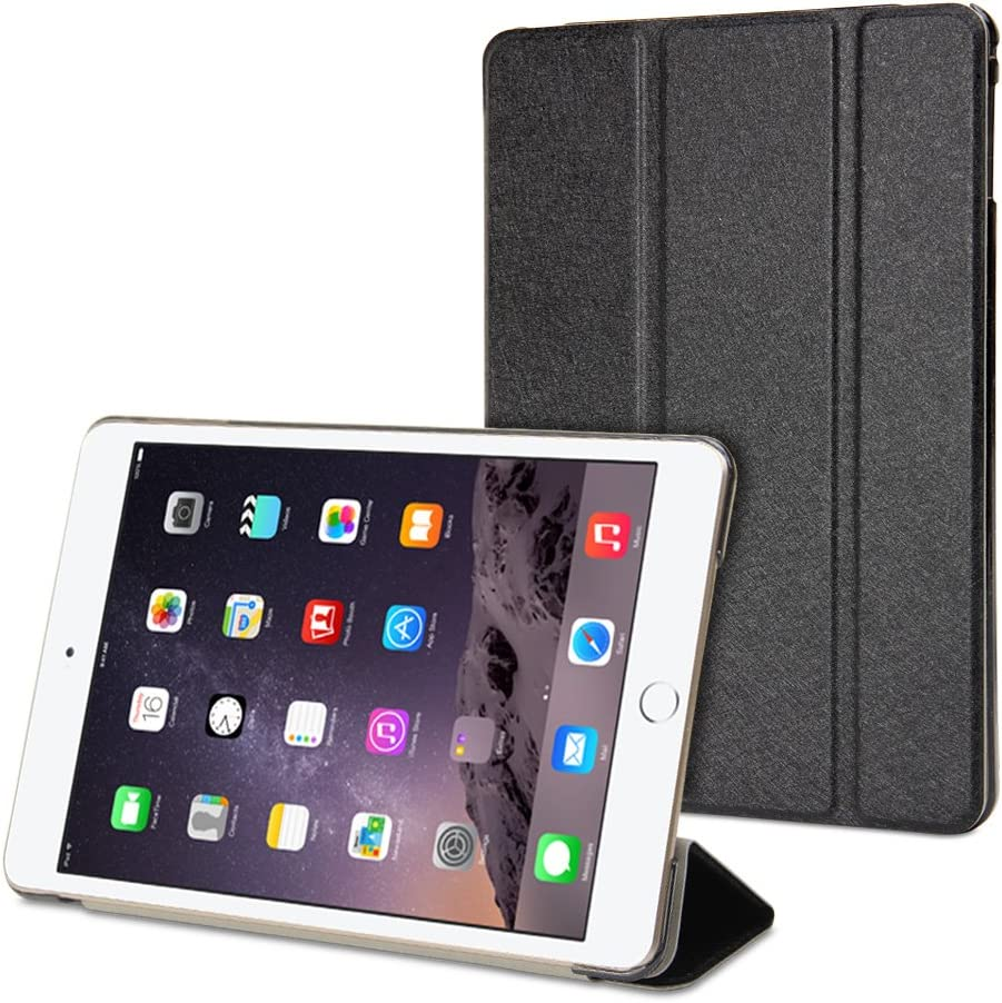 GMYLE iPad Mini 4 Case Flip Store Direct sale of manufacturer Silk Black Cover - for