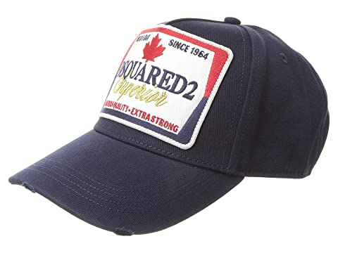 DSQUARED2 Superior Beer Label Baseball Cap