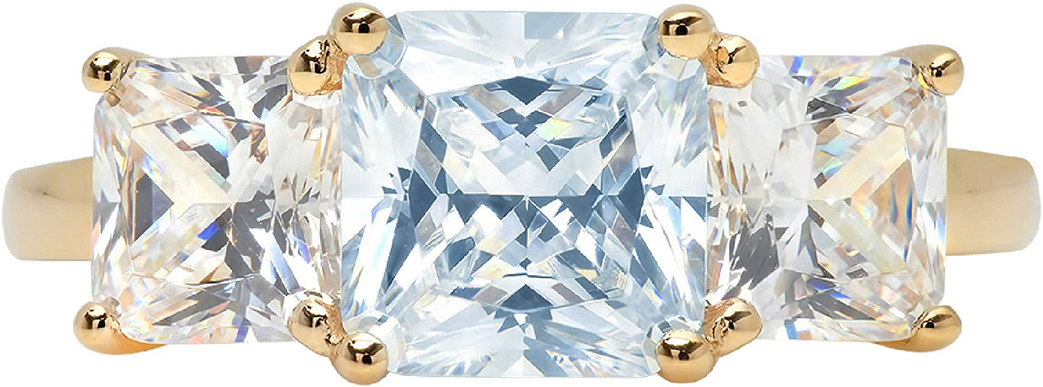 3.25ct Square Emerald Indefinitely Baguette cut 3 Accent Genu Solitaire Limited price stone