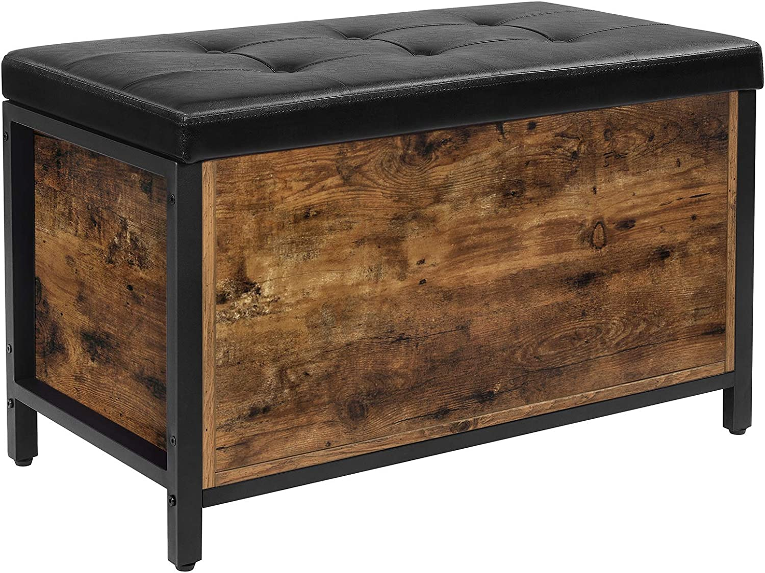 70% OFF Outlet VASAGLE Entryway Storage Bench Flip Portland Mall and Top Tru Ottoman