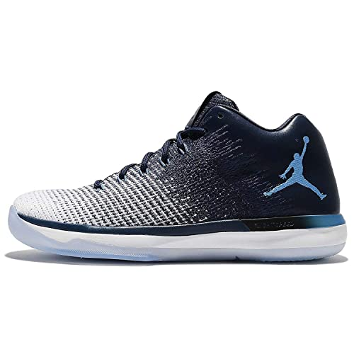 new product 035dd 2d30a Nike Air Jordan XXX1 Low Basketball Shoe, Midnight Navy University Blue, 11