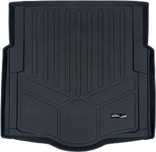 MAXLINER All Weather Custom Cargo Liner Trunk Floor Mat Black for 2016-2019 Chevrolet Cruze Sedan with Spare Tire