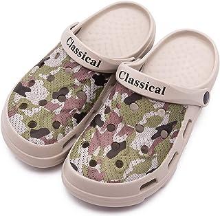 Unisex Garden Clogs Outdoor Walking Sandals Breathable Sport Slides Summer Non Slip Pool Beach Shower Slippers Shoes