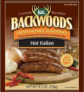 LEM Backwoods Hot Italian Fresh Sausage Seasoning