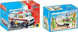 Playmobil City Life X-Ray Room and Rescue Ambulance