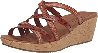 Skechers Women's Beverlee-Tiger Posse Wedge Sandal