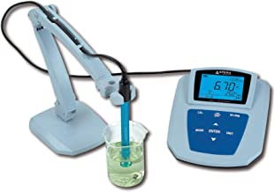 Apera Instruments MP511 Benchtop pH Meter, Accuracy: ±0.01 pH, Range: -2.00-19.99 pH, with GLP Data Management & Software Support