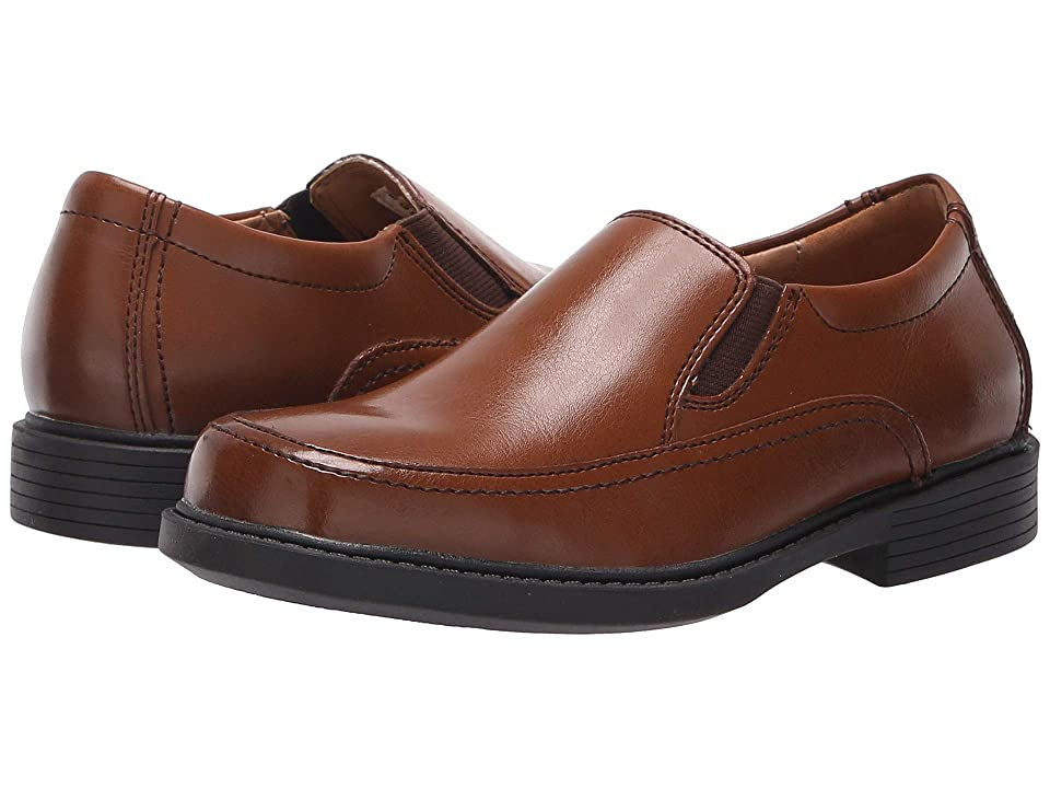 Florsheim Kids Bogan Jr. II (Toddler/Little Kid/Big Kid) (Cognac Smooth Leather) Boy's Shoes