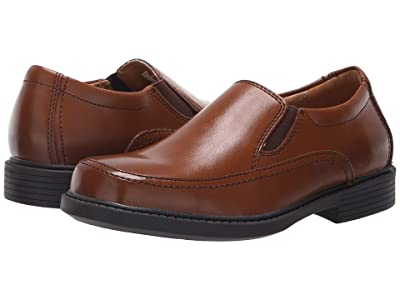 Florsheim Kids Bogan Jr. II (Toddler/Little Kid/Big Kid) (Cognac Smooth Leather) Boy