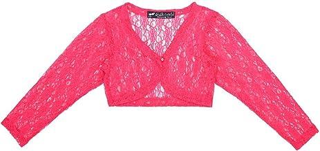 Ten on Ten Anak World Kids Girls Pink Lace Shrug