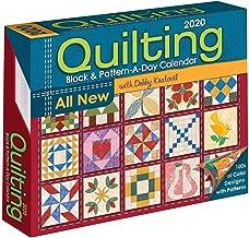 Quilting Block & Pattern a Day 2020 Calendar