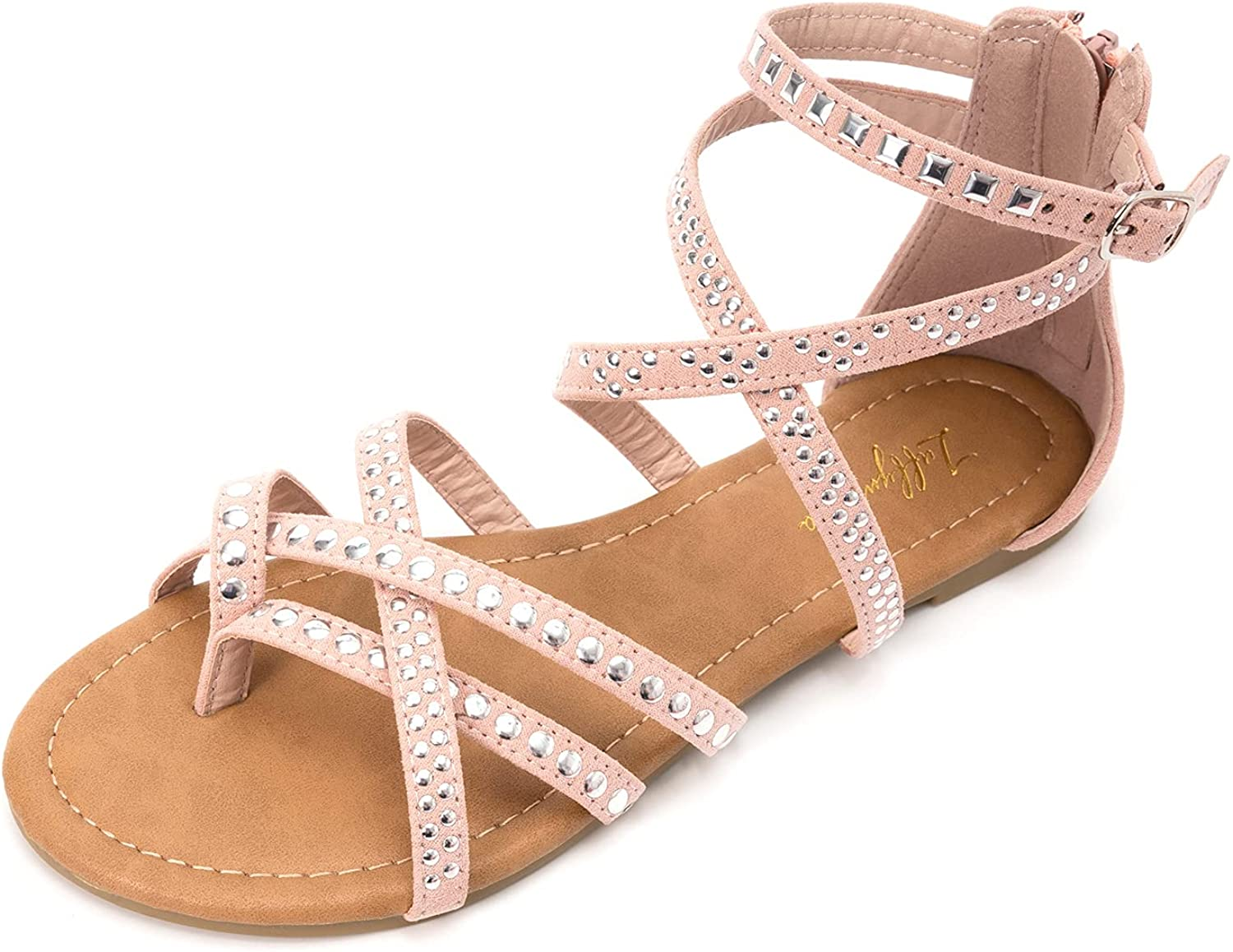 LUFFYMOMO Women's Cross Strappy Sandals Fisherman Gla Thong Discount mail order Flat Charlotte Mall