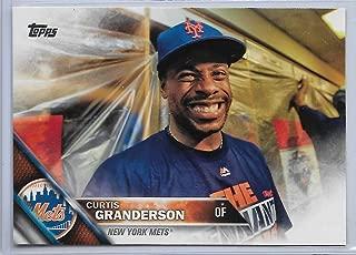 2015 Topps Series 1 Baseball Curtis Granderson SSP Short Print Card # 312