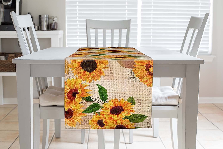 ATEDEANEI online shop Kitchen Table Department store Runner,Cotton Farmhouse Linen Dinni