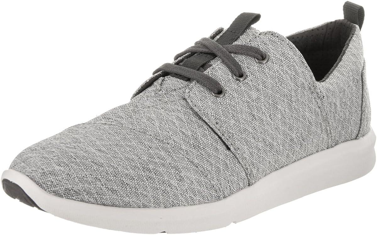 Toms Women's Del Rey Sneaker Grey Siamond Melange