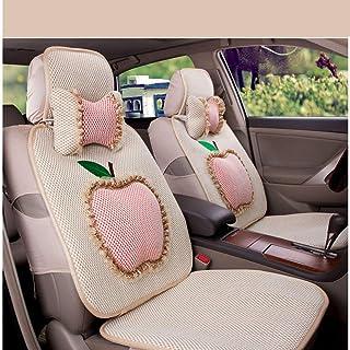 JKHOIUH Protector Universal for Cinturones de Seguridad a Prueba de Sudor/Impermeable - El Mejor Protector Antideslizante de Asientos de automóviles de Encaje Four Seasons Mat General Motors Cover F