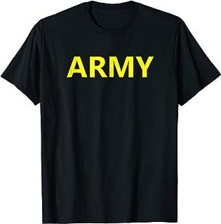 Army APFU Logo Shirt Physical Training Gym Workout Fitness