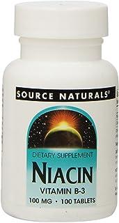 Source Naturals Niacin 100mg 100 Tablets