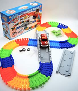 Hammond toys Rainbow Flexible Track with Battery Operate Car