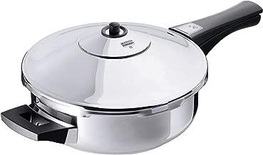 Kuhn Rikon Duromatic Energy Efficient Pressure Cooker - Frying Pan (Renewed)