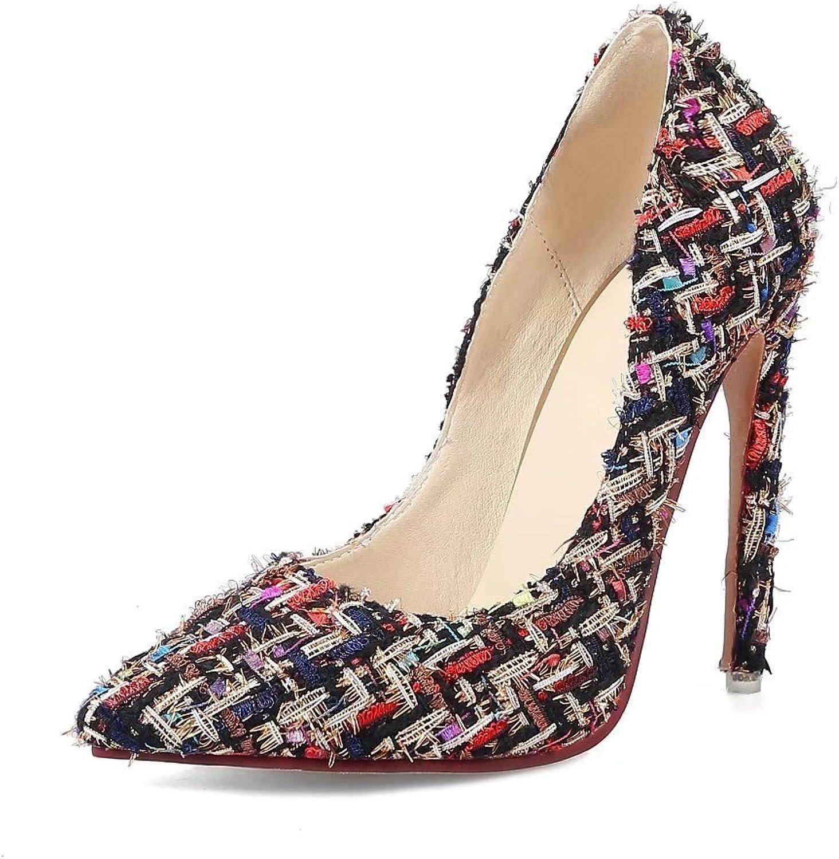 VIMISAOI Party Wedding Prom Women High Heel shoes Sexy Stiletto Pumps