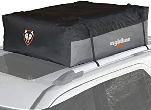 Rightline Gear Sport 3 Previous Model Car Top Carrier, 18 cu ft, 100% Waterproof, Attaches With or Without Roof Rack
