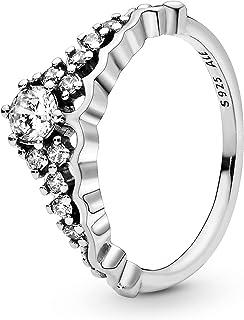Pandora Women's Sterling Silver Zircon 925 Silver Ring