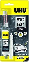 UHU Turbo FiX² kracht 10 g, super snelle, transparante 2-componenten reparatielijm voor veel verschillende, zeer belastbar...