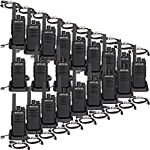 Case of 20,Retevis RT68 2 Way Radios Long Range 16 CH VOX Rechargeable Business Walkie Talkies for Adults with Earpiece