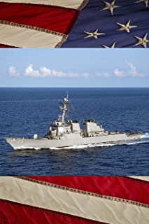 US Navy Destroyer USS Donald Cook (DDG 75) Journal: Take Notes, Write Down Memories in this 150 Page Lined Journal