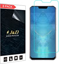 J&D Compatible for 8-Pack ZenFone 5 Screen Protector, [Not Full Coverage] HD Clear Film Shield Screen Protector for ASUS ZenFone 5 Clear Screen Protector - [NOT for ZenFone 5 Lite/ZenFone 5Z]