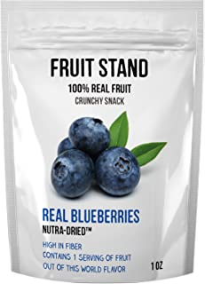 Fruit Stand Real Blueberries, 1 Ounce (Pack of 6)