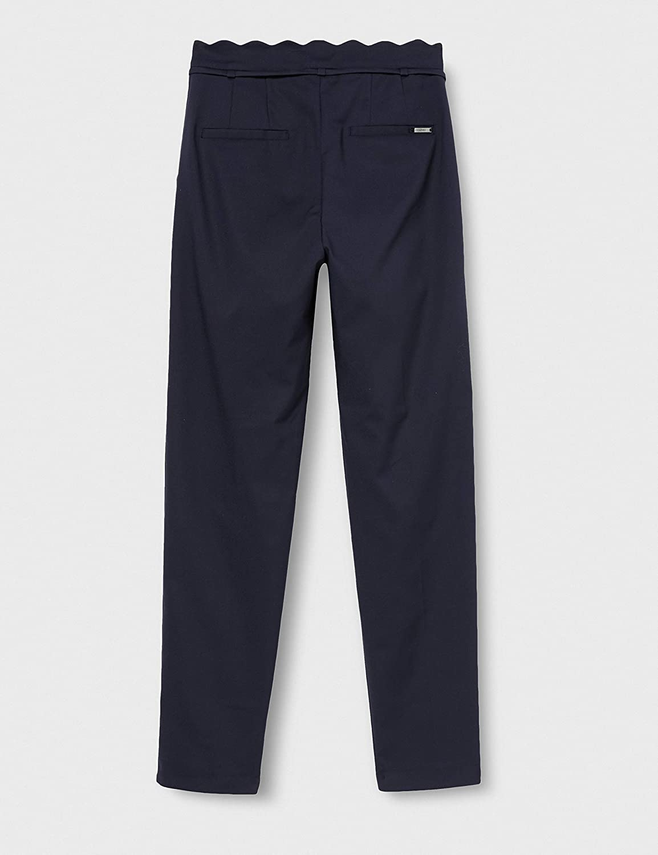 ESPRIT Collection Pantalon Femme 400/Bleu Marine.