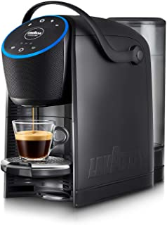 Lavazza A Modo Mio Voicy, Espresso Coffee Machine with Alexa and Smart Home Control for Lavazza A Modo Mio capsules, Black