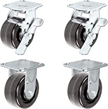 Caster Barn - Heavy Duty Toolbox Caster Set with Phenolic Wheels, 1,000 pounds Capacity per Caster, 5