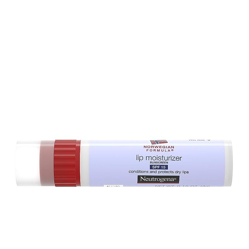 提唱する気をつけてイサカNeutrogena Norwegian Formula Lip Moisturizer, SPF 15, 0.15 Ounce (並行輸入品)