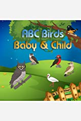 ABC Baby with species Birds Children photobooks: picture book for children aged 1-5 (Bedtime stories book series for children 72) Kindle Edition