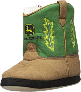 John Deere Boys' Toddler Slippers