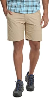 Khaki Outdoor Performance Relaxed Fit at Knee Flex Cargo Shorts