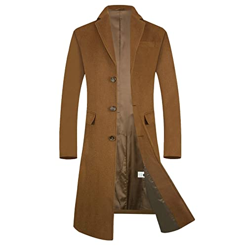 Men S Camel Coats And Jackets Amazon Co Uk