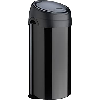 Cubo de Basura Color Negro Metal, 60 L Meliconi 14000553106BD