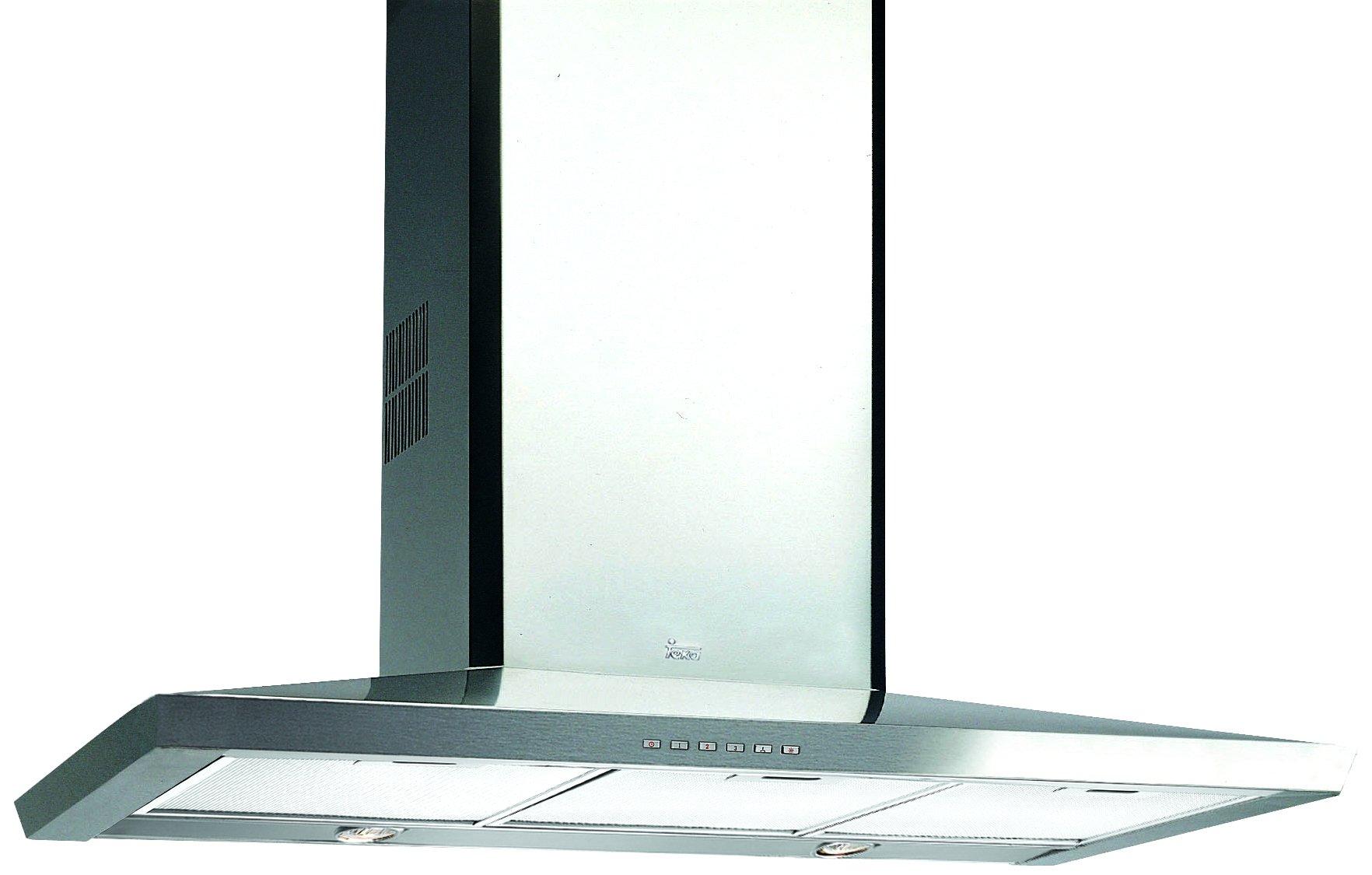 Teka DS 60.1/70/90 - Campana (Montado en pared, Canalizado/Recirculación, Halógeno, Acero inoxidable, Botones, Metal): Amazon.es: Grandes electrodomésticos