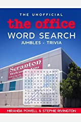 The Unofficial The Office Word Search - Jumbles - Trivia (The Office TV Show Fun Word Puzzles) Paperback