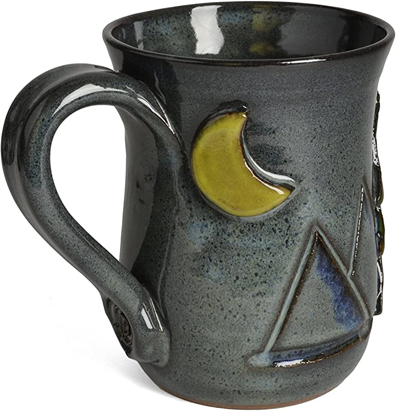 MudWorks Pottery Moonlight Mountain Mug