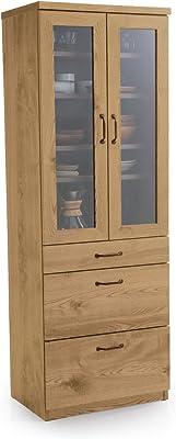 LOWYA ロウヤ 食器棚 キッチン キッチン収納 キャビネット 国産 幅60cm Aタイプ ナチュラル